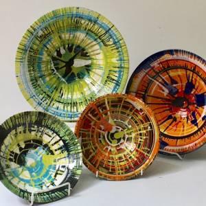 kaleidoscope bowls