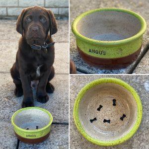 Pet bowls & treat barrels